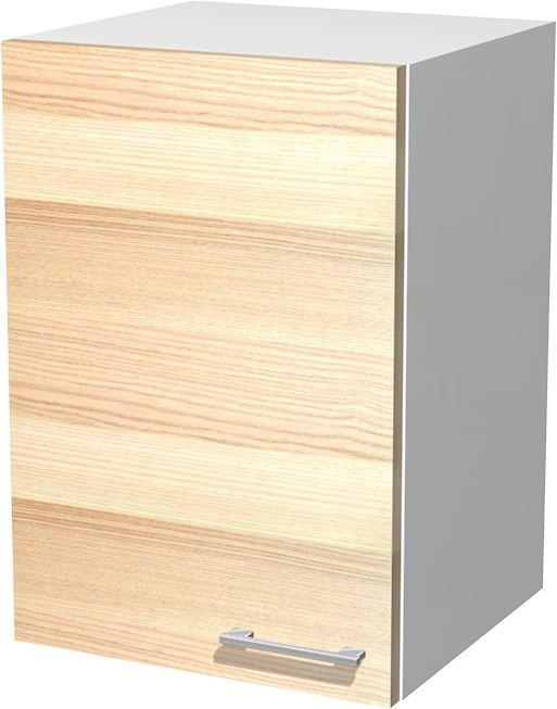 Kuhinjska Zgornja Omarica Venezia Akazia - bela/barve akacije, Moderno, leseni material (40/54/32cm)