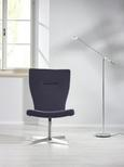 Drehstuhl Lifestyle - Grau, MODERN, Textil/Metall (72/98/62cm) - Mömax modern living