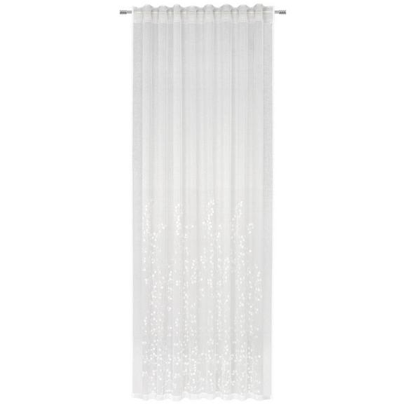 FERTIGVORHANG Livie in Weiß - Weiß, Basics, Textil (135/245cm) - Premium Living