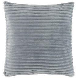 Okrasna Blazina Flanell Cord - roza/siva, tekstil (45/45cm) - Mömax modern living