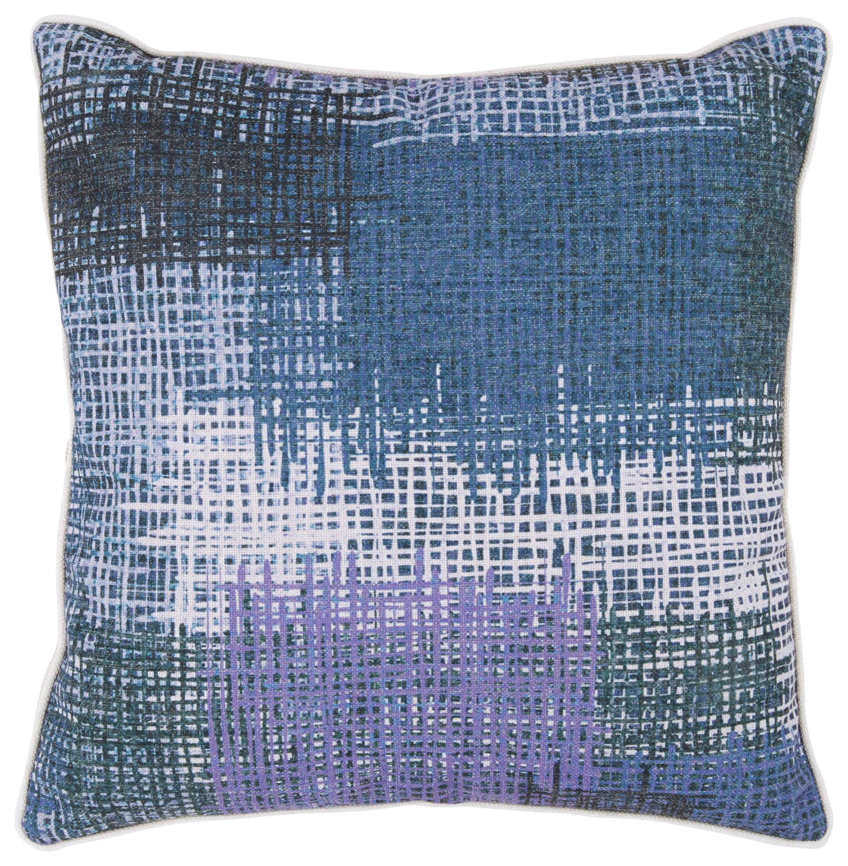 Zierkissen Marble, ca. 45x45cm - Lila/Grau, LIFESTYLE, Textil (45/45cm) - MÖMAX modern living