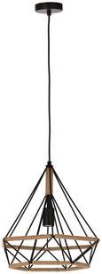 Hängeleuchte Madita max. 60 Watt - Schwarz, LIFESTYLE, Textil/Metall (34/139cm) - Mömax modern living