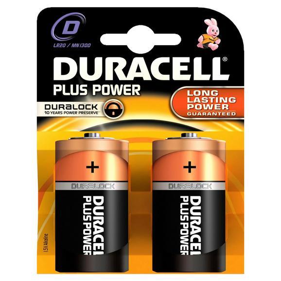 Batterie Duracell Lr20 - (9/11,9/3,4cm)