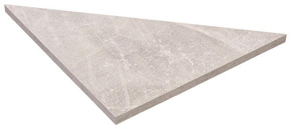 Falipolc Skate 35/35 - Sárga, modern, Faalapú anyag (35/1,8/35cm)