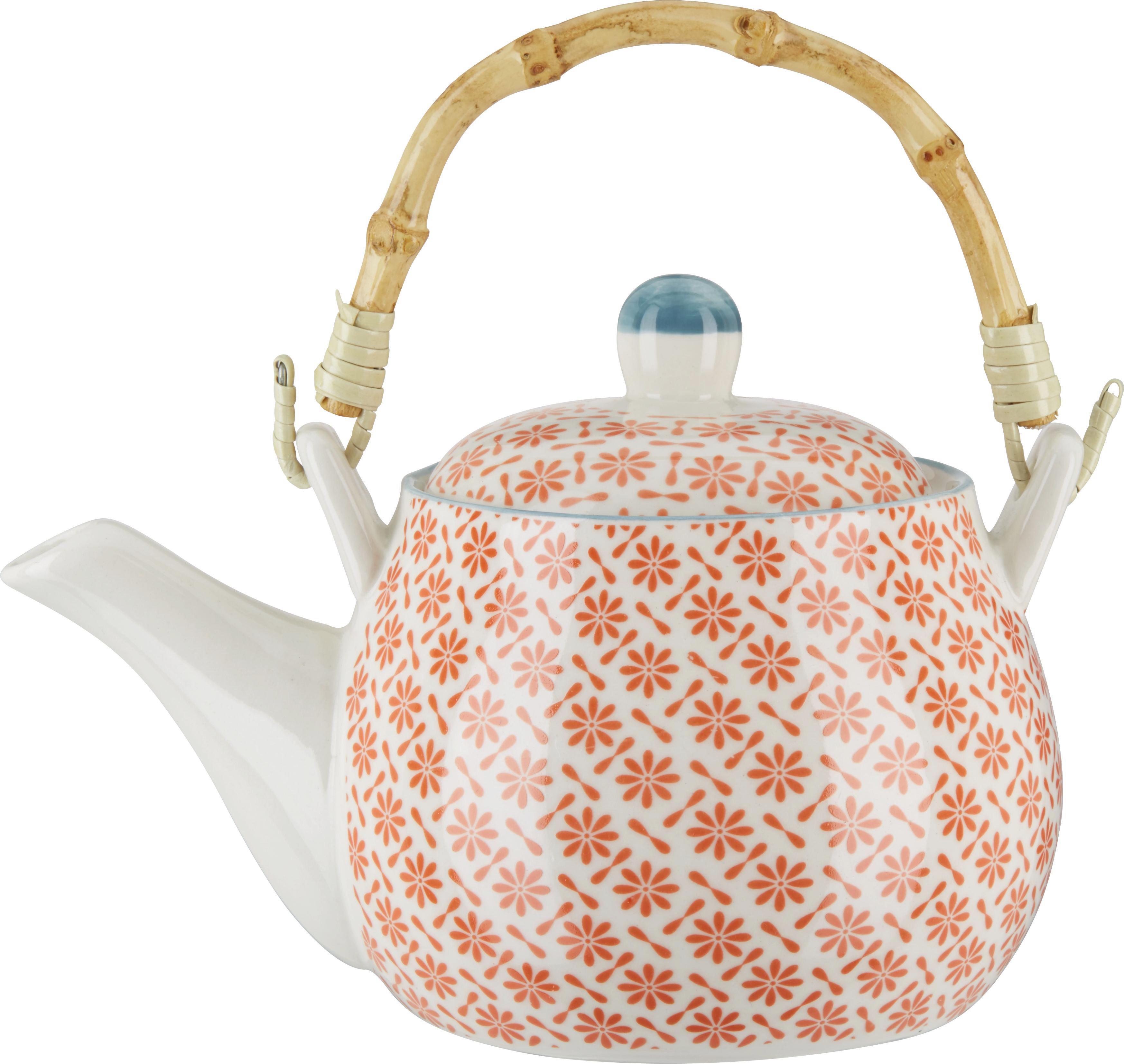 Teekanne Shakti aus Porzellan - Multicolor, LIFESTYLE, Keramik (17,8/11cm) - MÖMAX modern living