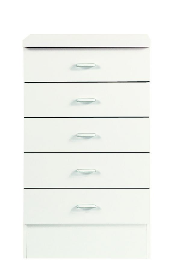 Fiókos Alsószekrény Speed - Fehér, modern, Faalapú anyag (50/85/47cm)