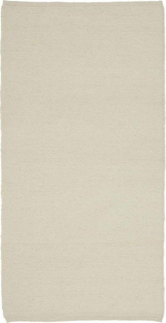 Handwebteppich Charlie in Natur, ca. 67x130cm - Naturfarben, Textil (67/130cm) - Mömax modern living