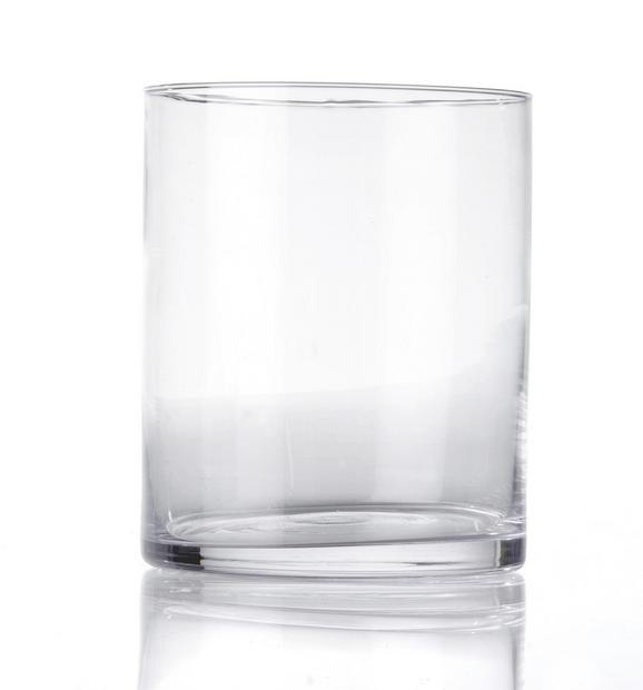 Vase Andrea aus Glas - Klar, Glas (13/15cm) - MÖMAX modern living