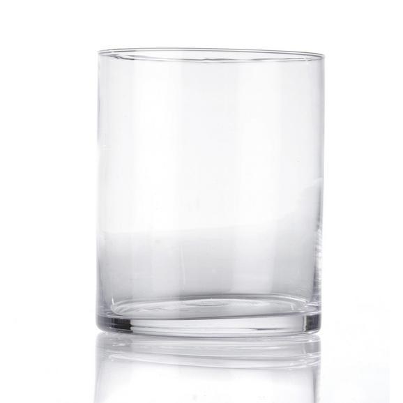 Váza Andrea - Átlátszó, Üveg (13/15cm) - Mömax modern living