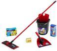 Reiniguungsset Ultramat Starter Set, 5-teilig - Gelb/Rot, KONVENTIONELL, Kunststoff/Textil (28,5 29 45cm) - Vileda