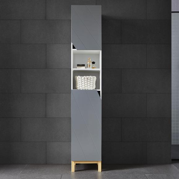 Badezimmerschrank rocco online kaufen m max - Badezimmerschrank grau ...