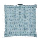 Blazina Agnes - modra, Moderno, tekstil (40/40/8cm) - Mömax modern living