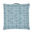 BOXKISSEN Agnes Blau 40x40cm - Blau, MODERN, Textil (40/40/8cm) - Mömax modern living