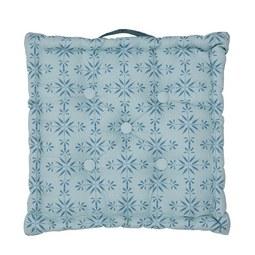 Ülőpárna Agnes - Kék, modern, Textil (40/40/8cm) - Mömax modern living