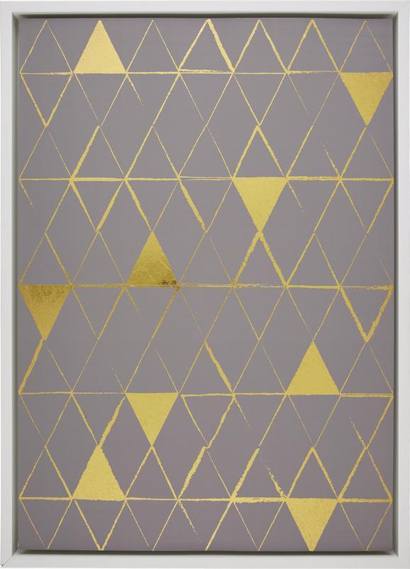 Bild Denise,71x98,5x4cm - Multicolor/Weiß, MODERN, Holzwerkstoff (71/98,5/4cm) - Mömax modern living