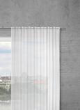 Kombivorhang Leo in Weiß, ca. 140x255cm - Naturfarben, KONVENTIONELL, Textil (140/255cm) - Premium Living