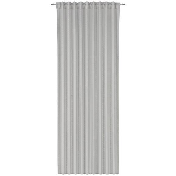 Fertigvorhang Gerda in Grau ca. 140x245cm - Grau, ROMANTIK / LANDHAUS, Textil (140/245cm) - Mömax modern living
