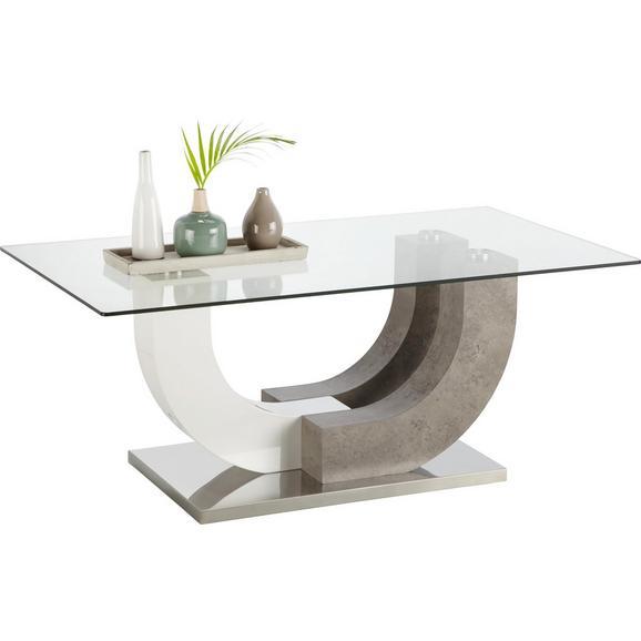 Couchtisch Wei Mit. Elegant Couchtisch Weiss Glas Haus Mobel ...