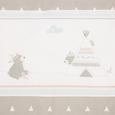 Set Za Otroško Posteljico Indibär - Ext - - bela (100/135cm)