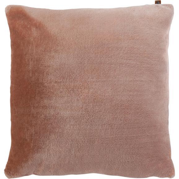 Kissen in Rosa 'Eliza'  ca. 60x60cm - Rosa, MODERN, Textil (60/60cm) - Bessagi Home