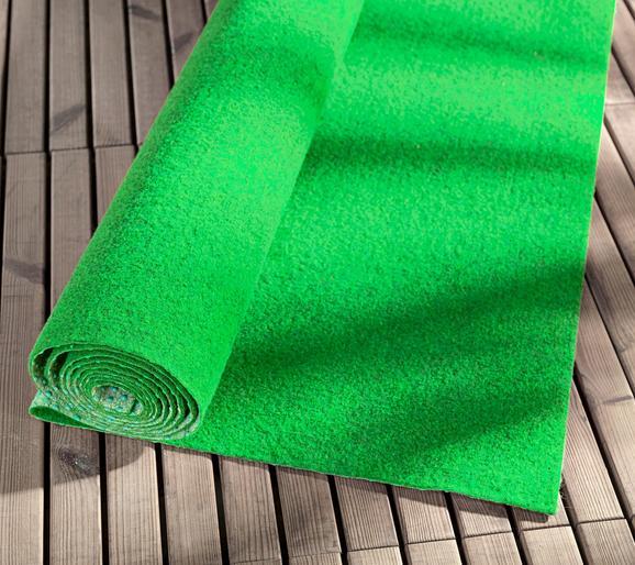 Preproga Monaco - zelena, tekstil (133/300cm) - Mömax modern living