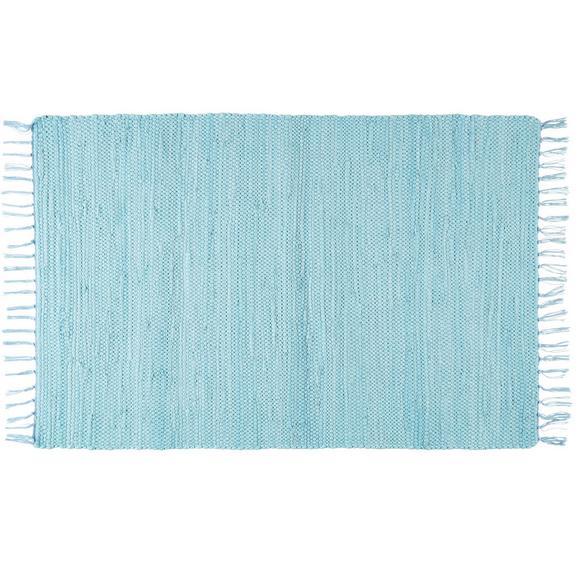 Krpanka Julia 3 - svetlo modra, Romantika, tekstil (70/230cm) - Mömax modern living