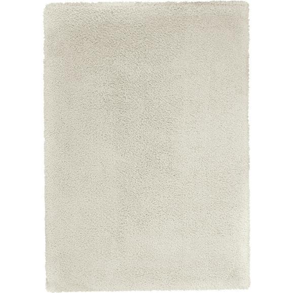 Covor Shaggy Stefan - alb, Modern, textil (120/170cm) - Modern Living