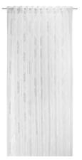 Zavesa Z Zankami Ornela - bela, tekstil (140/245cm)