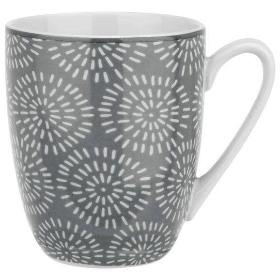Cană Pentru Cafea Nina - gri, ceramică (8,5/10cm) - Modern Living