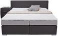 Postelja Boxspring Riva - temno siva/črna, Moderno, kovina/umetna masa (180/200cm) - Mömax modern living