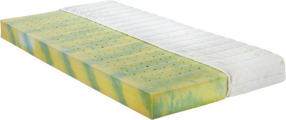Kaltschaummatratze ca. 60x120cm - Gelb/Weiß, Textil (60/120cm) - Nadana