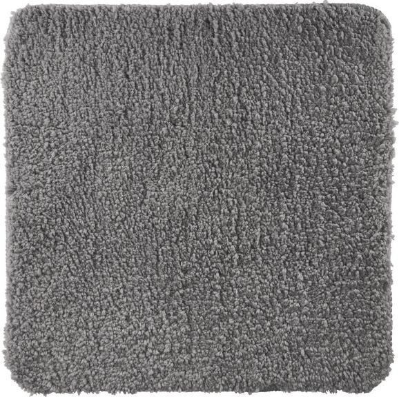 Badematte Christina Grau - Grau, Textil (50/50cm) - Mömax modern living