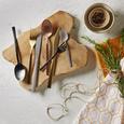 Besteckset Beverly, 20-teilig - Kupferfarben, LIFESTYLE, Metall - Premium Living