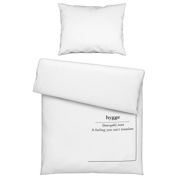 Bettwäsche Hygge Weiß 140x200cm Online Kaufen Mömax