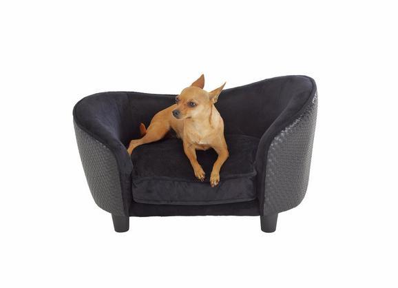 Hundesofa Doggie - Schwarz, Textil (67,3/40,6/40,6cm) - MÖMAX modern living