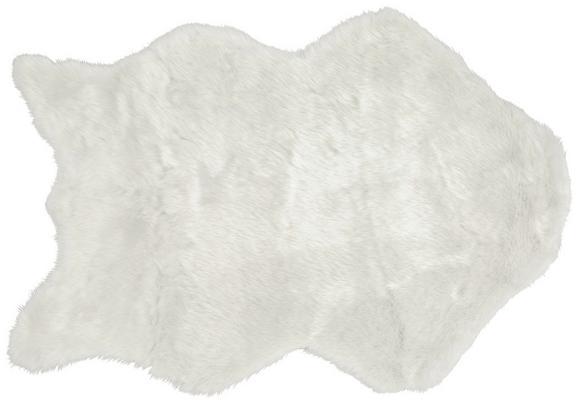 Umetno Krzno Lisa - bela, tekstil (60/90cm) - Mömax modern living