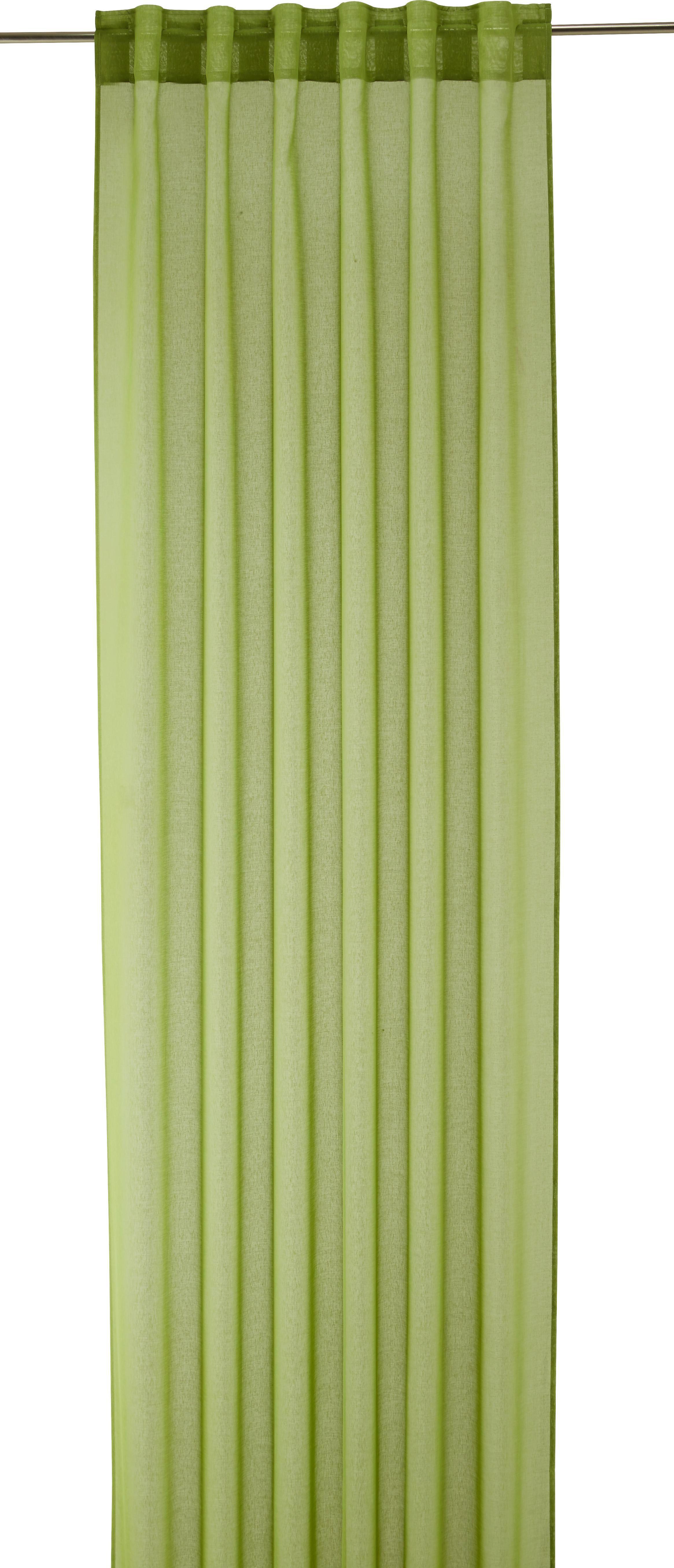 Készfüggöny Tosca - zöld, textil (140/245cm) - MÖMAX modern living