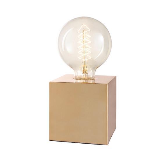 Namizna Svetilka Eni - krom/baker, Moderno, kovina/umetna masa (10/10/10cm) - Mömax modern living