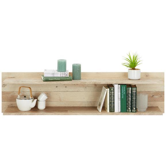 Wandpaneel in Eichefarben - Eichefarben, MODERN, Holzwerkstoff (130/33/25cm) - Modern Living