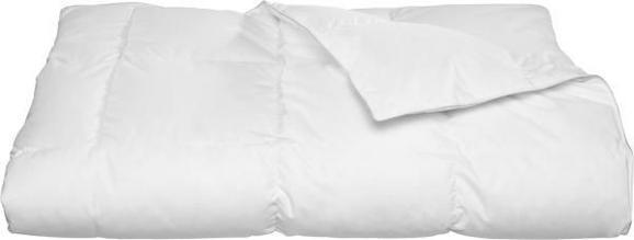 Einziehdecke Modern mittel - Weiß, Textil (135/200cm) - Nadana