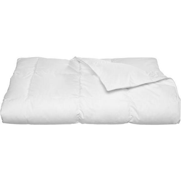 Einziehdecke MODERN WARM - Weiß, Textil (135/200cm) - Nadana