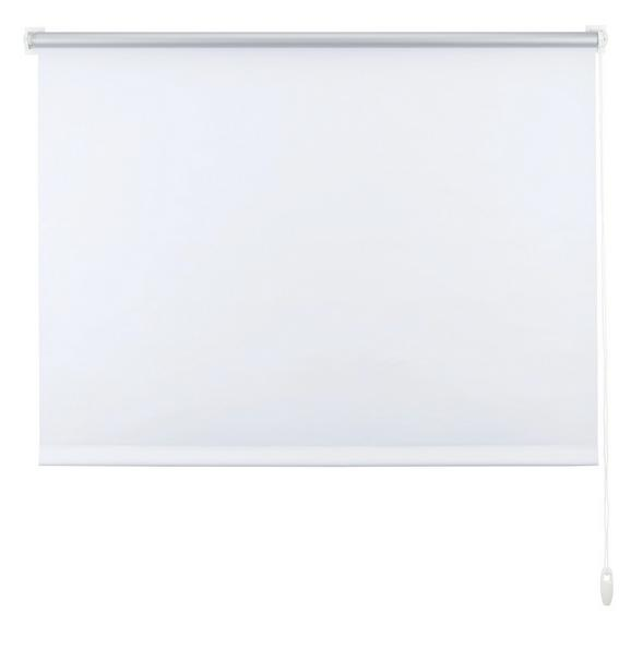 Klemmrollo Thermo in Weiß, ca. 120x150cm - Weiß, Textil (120/150cm) - PREMIUM LIVING