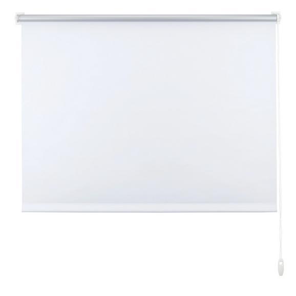 Klemmrollo Thermo Weiß ca. 120x150cm - Weiß, Textil (120/150cm) - Premium Living