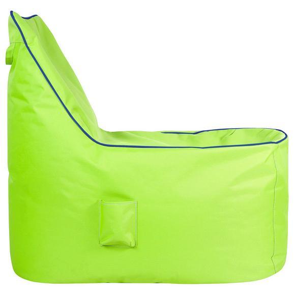 Vreča Za Sedenje Cortona - modra/limeta, Moderno, tekstil (100/90/70cm) - Mömax modern living