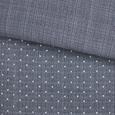 S'Oliver Flanellbettwäsche - Silberfarben/Grau, MODERN, Textil (135x200/80x80cm) - S. Oliver