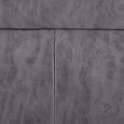 Stuhl Tobias - Chromfarben/Dunkelgrau, MODERN, Textil/Metall (44,5/101/55cm) - Modern Living