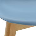Kinderstuhl Tibby - Hellblau, MODERN, Holz/Kunststoff (30/56,5/32,5cm) - Mömax modern living