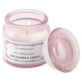 Gyertya Üvegben Tetővel Aurelie - Fehér/Halvány rózsaszín, Üveg (10/10cm) - Mömax modern living