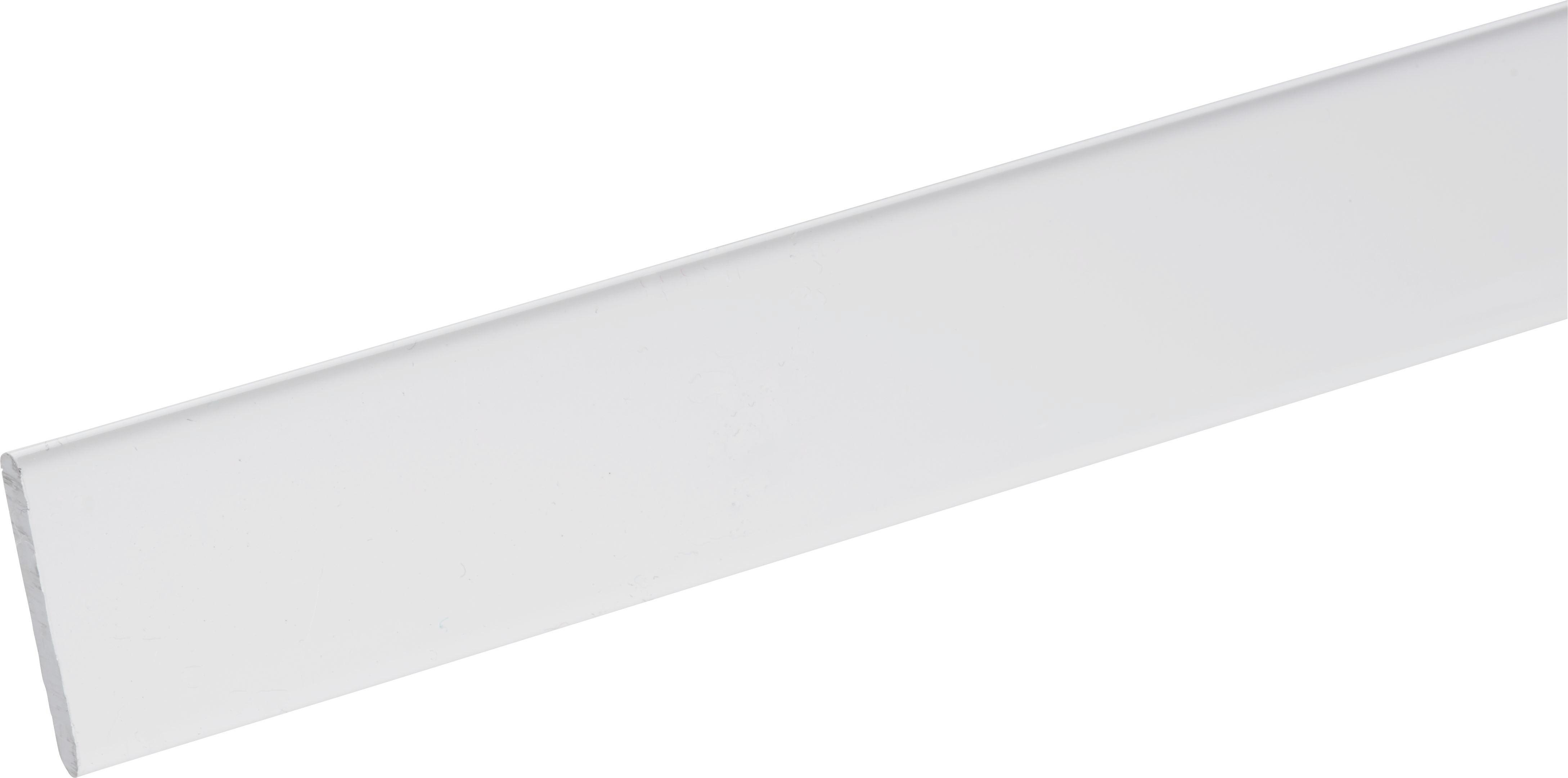 Lapfüggönysín Juliana - fehér, műanyag (60cm) - MÖMAX modern living