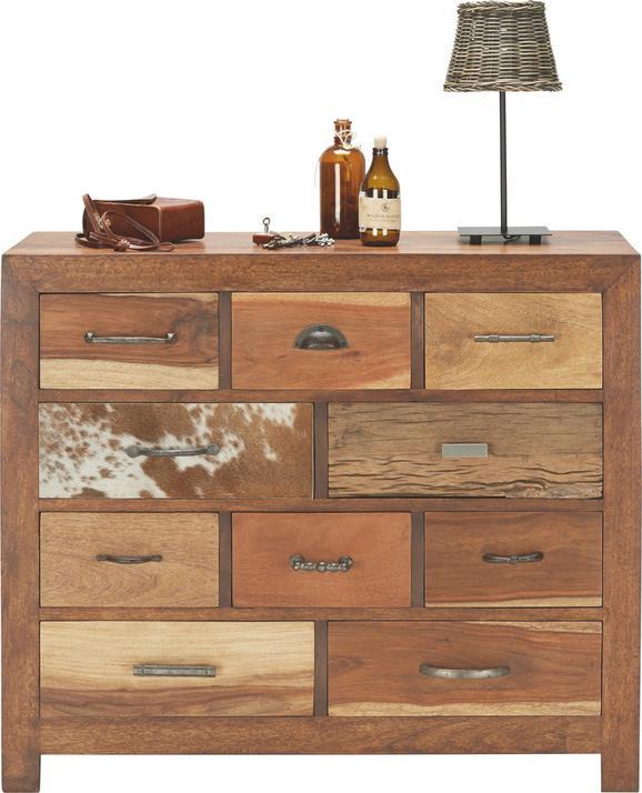 Kommode in Braun aus Mango massivholz - LIFESTYLE, Holz (100/85/40cm) - MÖMAX modern living